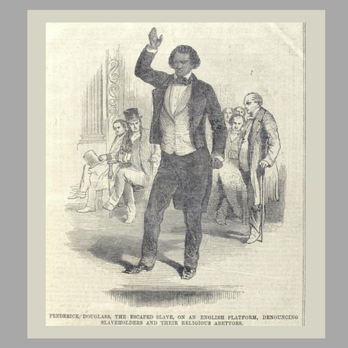 Frederick Douglas Speaking