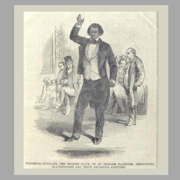 Frederick Douglas Speaking